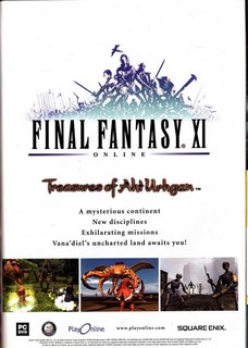 Final Fantasy XI Online Poster