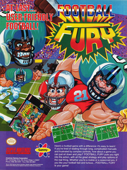 Football Fury Poster