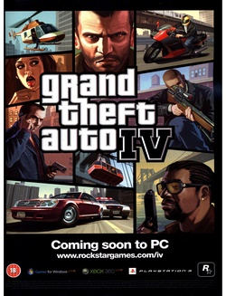 Grand Theft Auto IV Poster