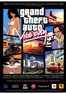 Grand Theft Auto: Vice City Poster