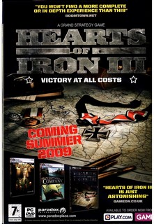 Hearts Of Iron 3 Poster