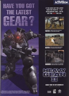 Heavy Gear 2 Poster