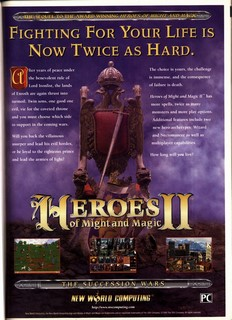 Heroes of Might and Magic II Poster