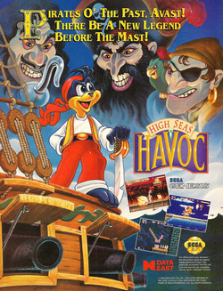 High Seas Havoc Poster