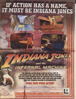 Indiana Jones and the Infernal Machine Poster