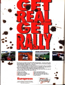 International Rally Championship Poster