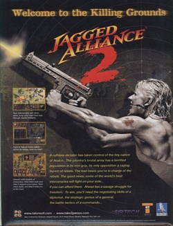 Jagged Alliance 2 Poster