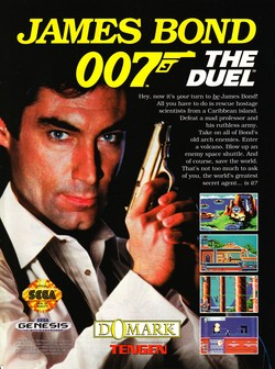 James Bond - The Duel Poster
