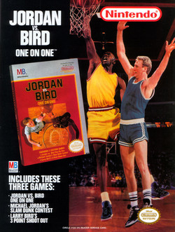 Jordan vs Bird - Super One-on-One Poster