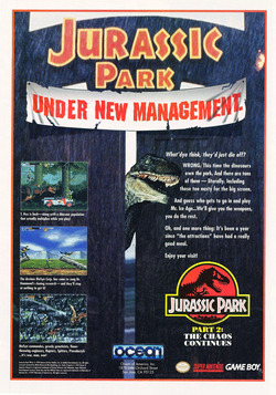 Jurassic Park 2: The Chaos Continues Poster