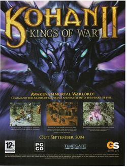 Kohan II: Kings of War Poster