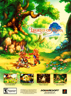Legend Of Mana Poster