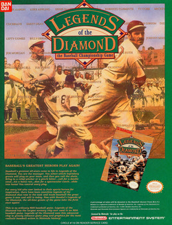 Legends of the Diamond Poster