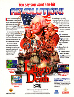 Liberty or Death Poster