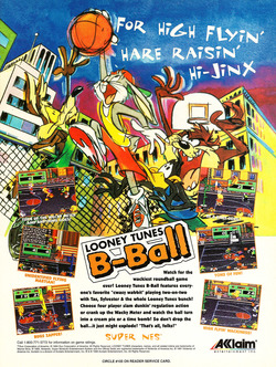 Looney Tunes B-Ball Poster