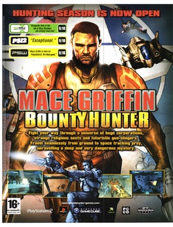 Mace Griffin: Bounty Hunter Poster