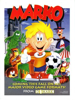 Marko's Magic Football Poster