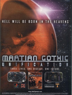 Martian Gothic: Unification Poster