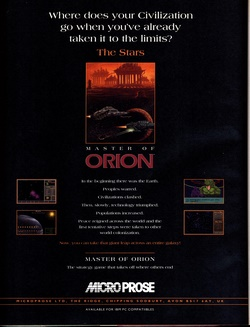 Master Of Orion Poster