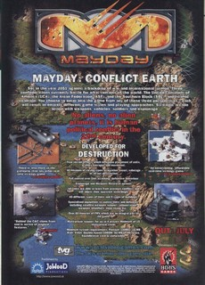 Mayday: Conflict Earth Poster
