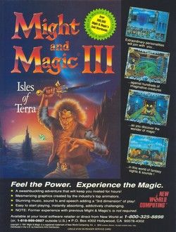 Might and Magic III: Isles of Terra Poster