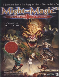 Might and Magic VII: For Blood and Honor Poster