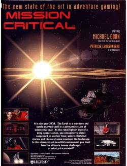 Mission Critical Poster