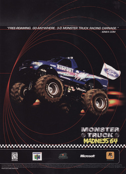 Monster Truck Madness 64 Poster