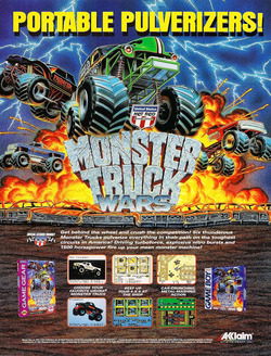Monster Truck Wars Poster