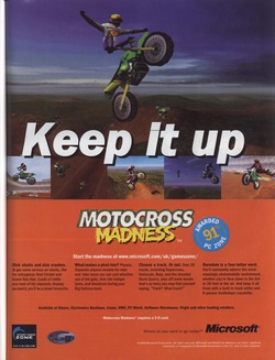 Motocross Madness Poster