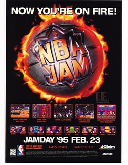NBA Jam Tournament Edition Poster