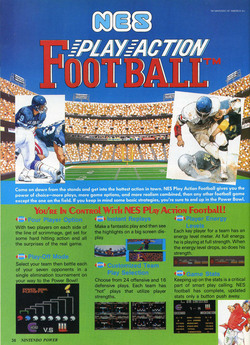 NES Play Action Football Poster