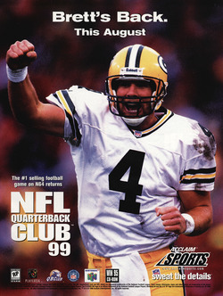 NFL Quarterback Club '99 Poster