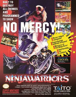 The Ninja Warriors Poster