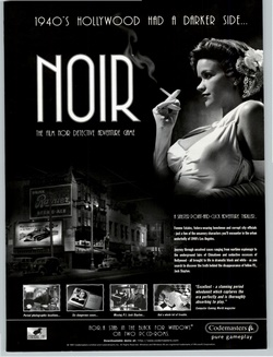 Noir: A Shadowy Thriller Poster