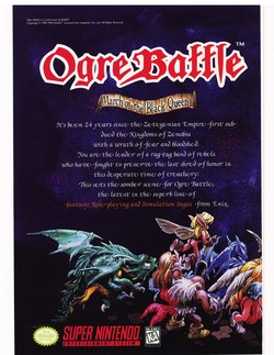 Ogre Battle Poster