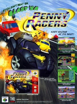 Penny Racers Poster
