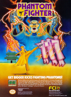 Phantom Fighter Poster