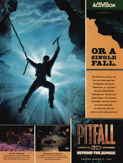 Pitfall 3D: Beyond the Jungle Poster