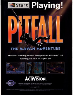 Pitfall: The Mayan Adventure Poster