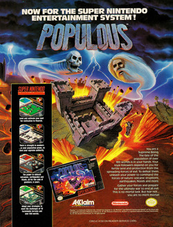 Populous Poster