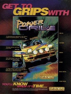 Power Drive Rally Poster