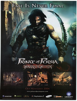 Prince of Persia: Warrior Within Poster