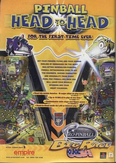 Pro Pinball: Big Race USA Poster