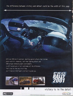 Pro Rally 2001 Poster