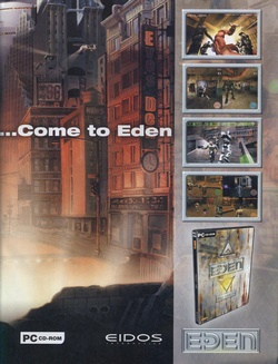 Project Eden Poster