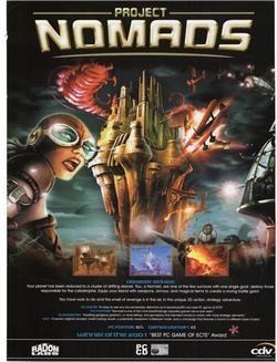Project Nomads Poster