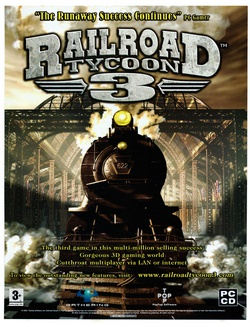 Railroad Tycoon 3 Poster