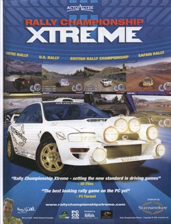 Rally Championship Xtreme Poster