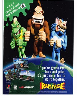 Rampage World Tour Poster